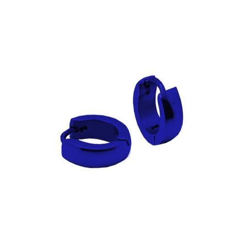 Picture of PENDIENTE SS 316 L, IP AZUL, 10*2 mm