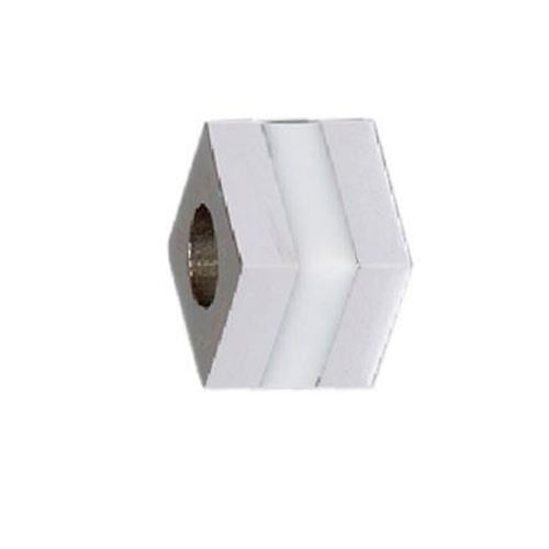 Picture of BEAD ACERO 316 L, CUBO GLASS BLANCO