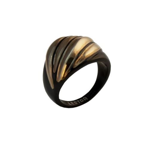 Picture of ANILLO ACERO 316 L CASTING, IP NEGRO/ROSE