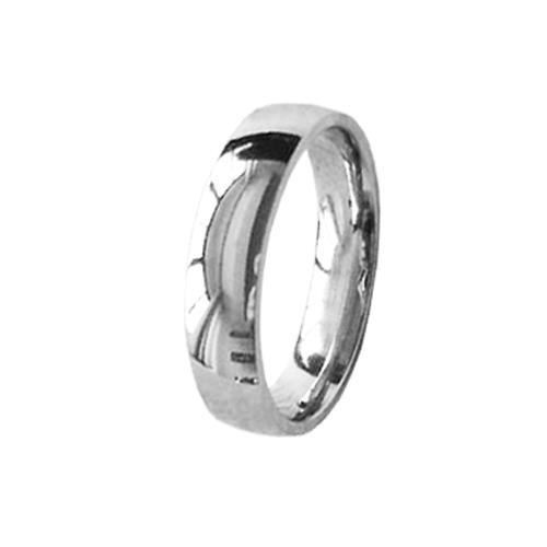 Picture of ANILLO ACERO 316 L, MEDIA CAÑA 4 mm