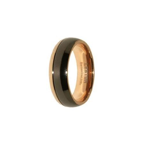 Picture of ANILLO ACERO 316 L, IP NEGRO Y ROSE