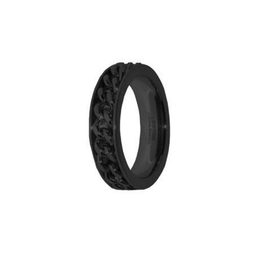 Picture of ANILLO CADENA ACERO 316 L, IP NEGRO