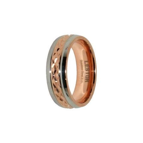 Picture of ANILLO ACERO 316 L, IP ROSE