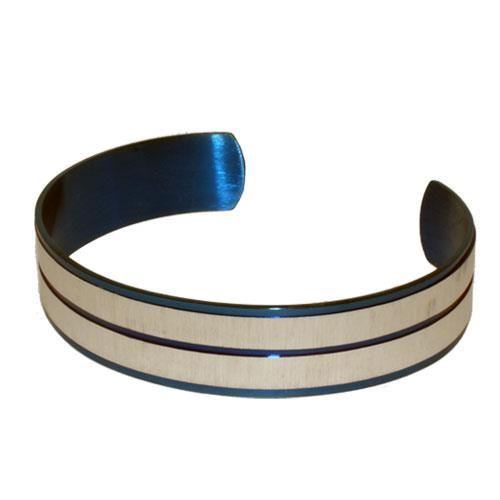 Picture of BRAZALETE ACERO 316 L, IP AZUL