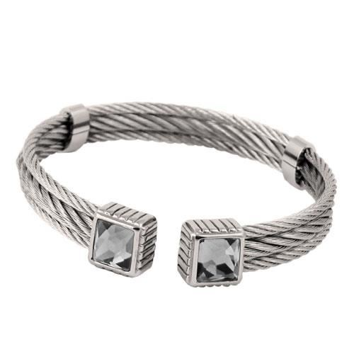 Picture of BRAZALETE CABLE ACERO 316 L, FUME