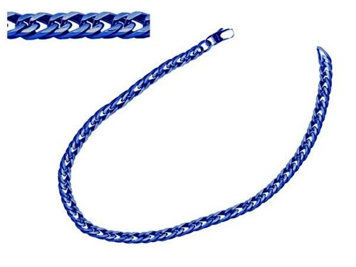 Picture of CADENA BARBADA 12 mm ACERO 316 L, IP AZUL, 55 cm