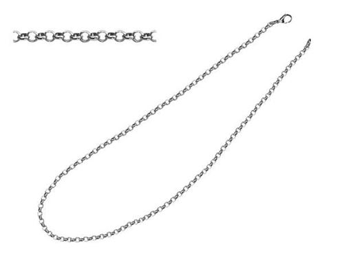 Picture of CADENA ROLO 3 mm SS 316 L, 80 cm