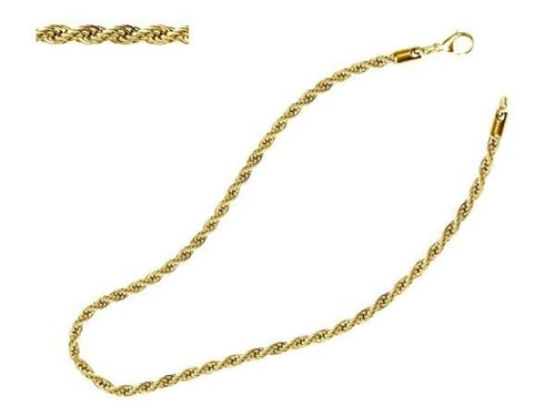 Picture of CORDON SS 316 L 7,0 mm, IP GOLD, 45 cm