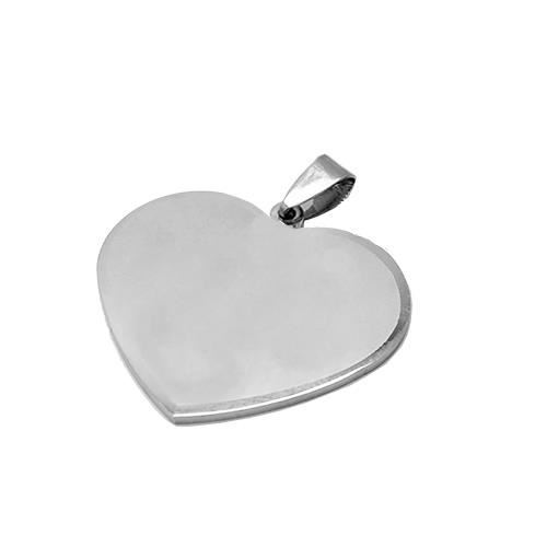 Picture of CHAPA ACERO 316 L, CORAZON 30 x 27 mm