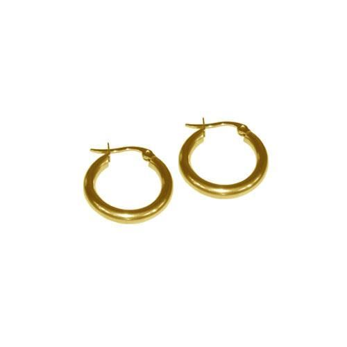 Picture of PENDIENTE 2 mm 316 L, IP GOLD, 10 mm