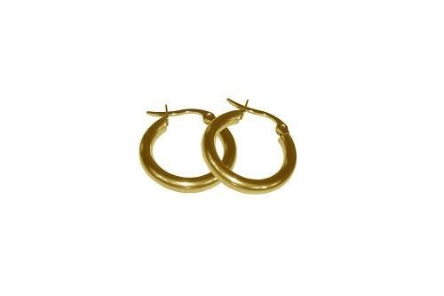 Picture of PENDIENTE 2 mm 316 L, IP GOLD, 20 mm
