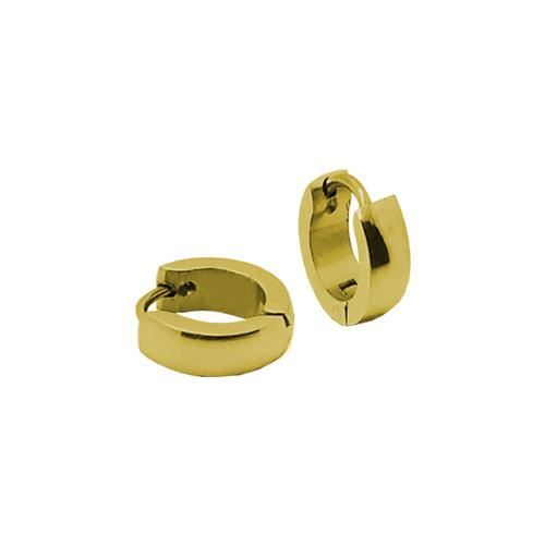 Picture of PENDIENTE SS 316 L, IP GOLD, 10*2 mm
