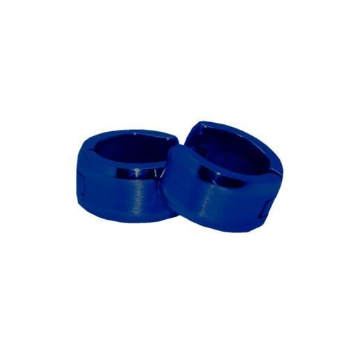 Picture of PENDIENTE SS 316 L, IP AZUL 12*7 mm