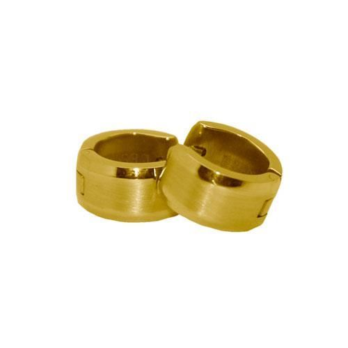 Picture of PENDIENTE SS 316 L, IP GOLD 12*7 mm