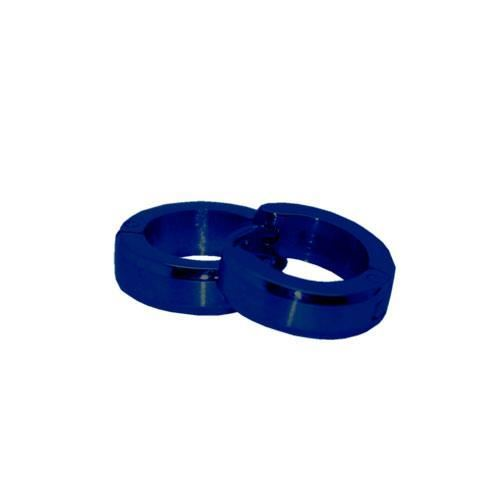 Picture of PENDIENTE SS 316 L, IP AZUL 12*4 mm
