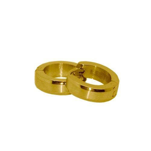 Picture of PENDIENTE SS 316 L, IP GOLD 12*4 mm