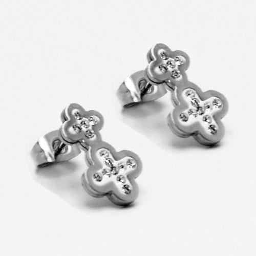 Picture of PENDIENTES SS 316L, W-EPOXI BLANCA CRUZ