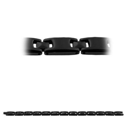 Picture of PULSERA ACERO 316 L, IP NEGRO