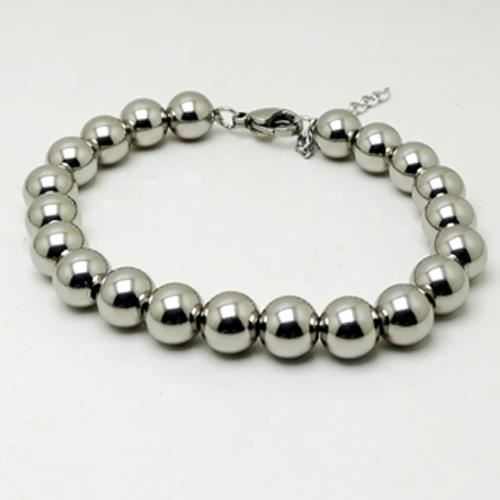 Picture of PULSERA ACERO 316L, BOLAS 8 mm