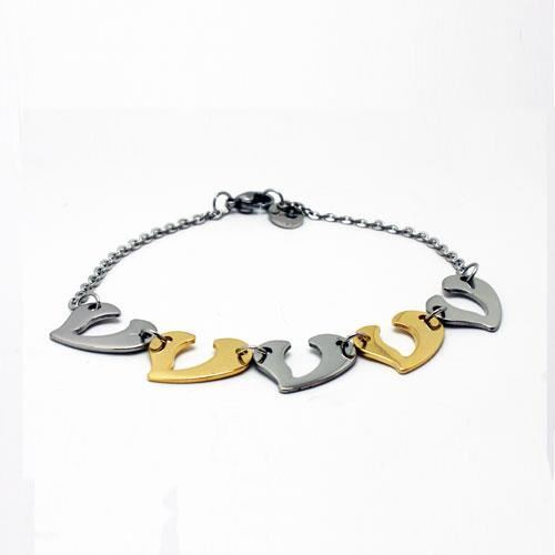 Picture of PULSERA ACERO 316 L, IP GOLD