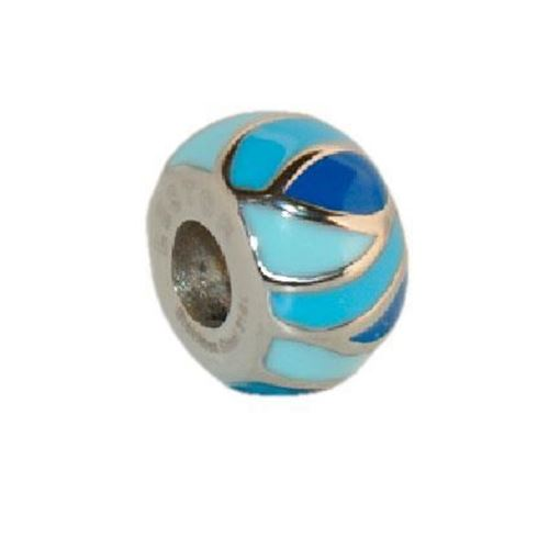 Picture of BEAD ACERO 316 L, ESMALTE 2 AZULES