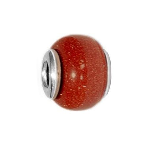 Picture of BEAD REDONDO 11x13, AVENTURINA MARRON