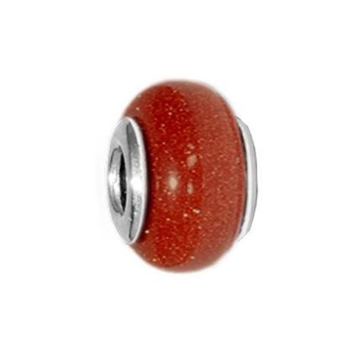Picture of BEAD DONUT 8x13, AVENTURINA MARRON
