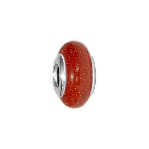 Picture of BEAD DONUT 5x13, AVENTURINA MARRON