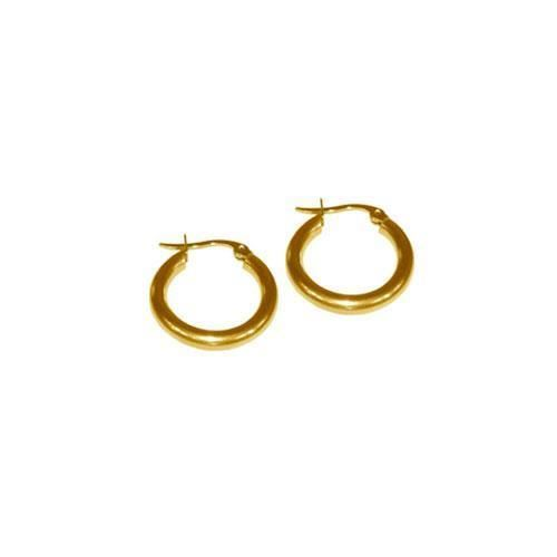 Picture of E10002/GOL.10 - PENDIENTE 2 mm 316 L, IP GOLD, 10 mm